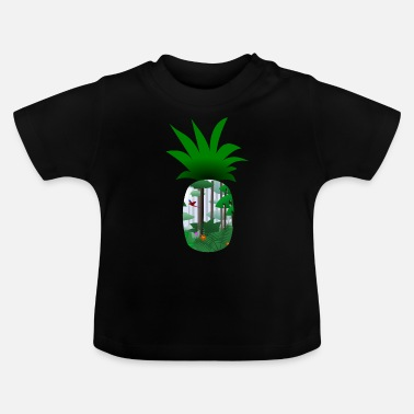 ananas simple (collection Voyage) - T-shirt Bébé
