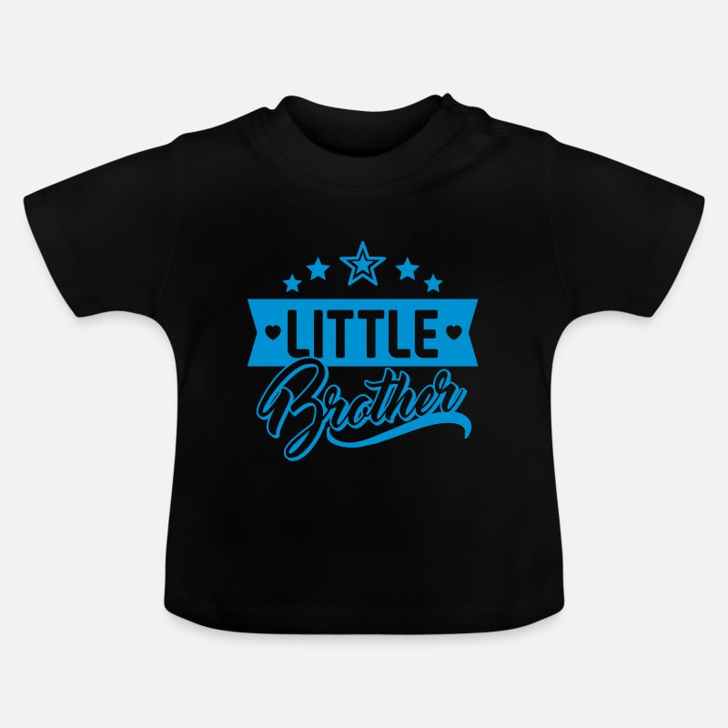 Baby Boys 12-18 Months Little Bother Blue T Shirt