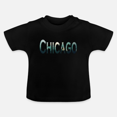 Lake Michigan CHICAGO METROPOLE am Lake Michigan in Illinois - Baby T-Shirt