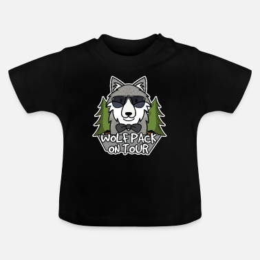 Wolfpack Wolfpack on tour - Baby T-Shirt