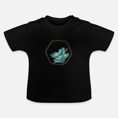 Greendale Geo Green Plant - Baby T-Shirt