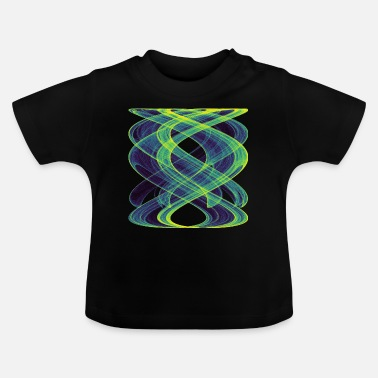 Space Watercolor art graphic painting picture chaos 13833vir - Baby T-Shirt
