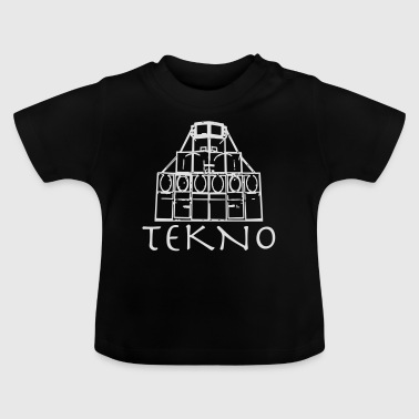 Tekno Rave Wear Free Party Stamme - Baby T-shirt