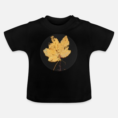 Leaf Maple Leaf Maple Leaf Leaf Leaves Herfst Herfst - Baby T-shirt