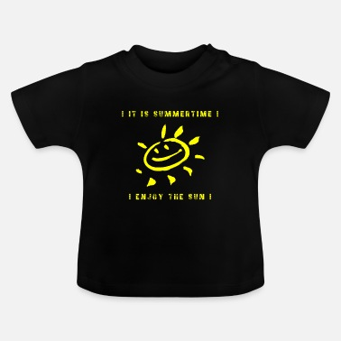 Sunny ZOMERTIME (ZONNIG) - Baby T-shirt
