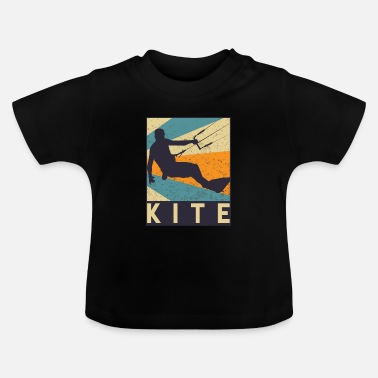 Wind kite - Baby-T-shirt