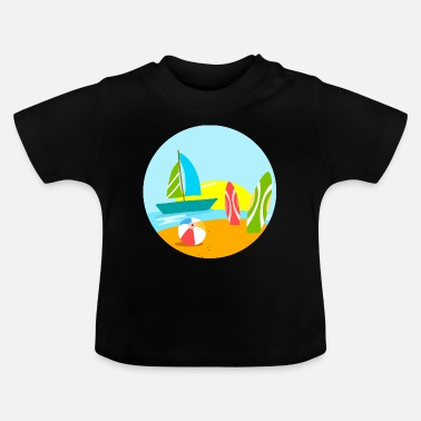 Sailboat sailboat - Baby T-Shirt