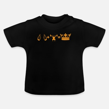 i present plus hobby king cross fitness - Baby T-Shirt