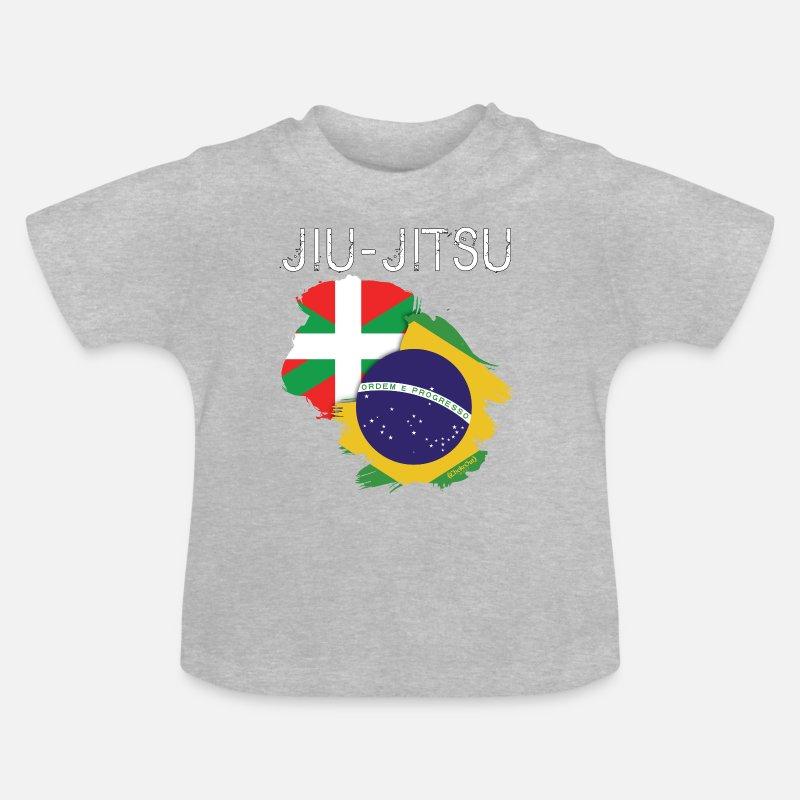 63b72d5364 Jiu-jitsu  Euskadi-Brasil Camiseta bebé