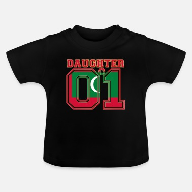 Malediven Daughter 01 tochter queen Malediven - Baby T-Shirt