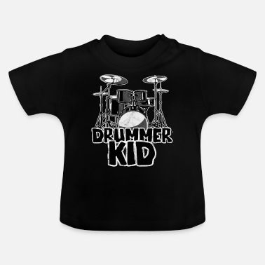 Kid Drummer Kid - Drums Kids motive - Baby T-Shirt