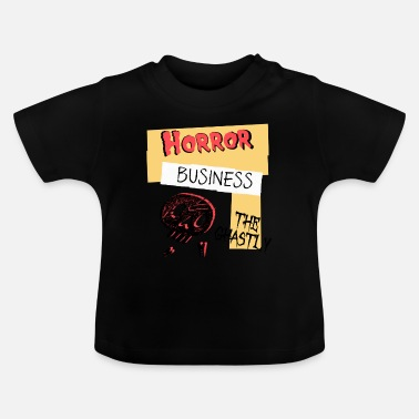 Ghastly Horror Business Halloween - Baby T-Shirt