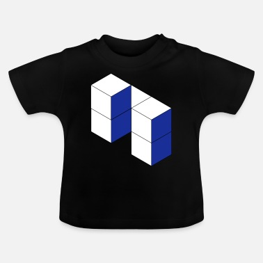 Cubes Cube - Baby T-Shirt