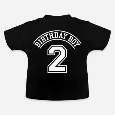 2 Birthday boy 2 jahre - Baby T-Shirt