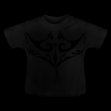 Manta ray tatoo - Baby T-Shirt