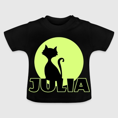 Julia Name day first name personal gift - Baby T-Shirt