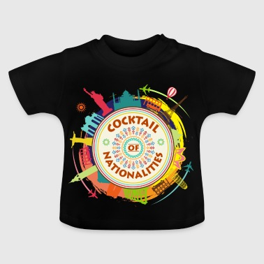 Cocktail of Nationalities - T-shirt Bébé