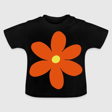2541614 15419363 blomst - Baby T-shirt