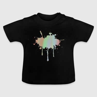 pastel Splash - Baby T-shirt