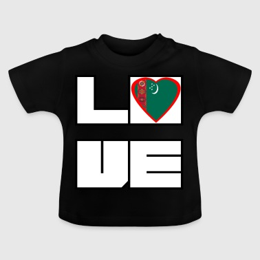 Love Land Roots Turkmenistan - Baby T-Shirt