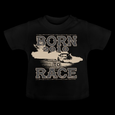 born to race racer racing car tuning 2010 - Baby T-Shirt