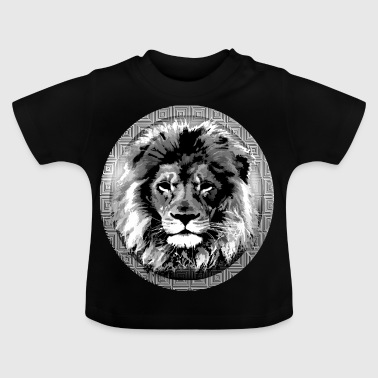 Moonlight Lion Insignia - Camiseta bebé