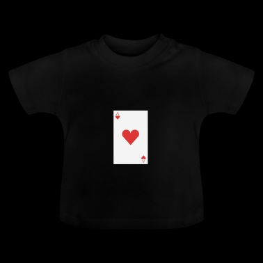 poker card - Baby-T-skjorte
