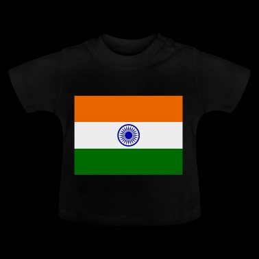 Indien-Flagge - Baby T-Shirt