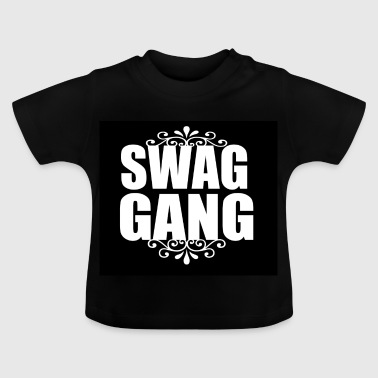 The inscription swag gang 047346 - Baby T-Shirt