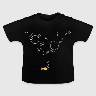 Fish with bubbles - Baby T-Shirt