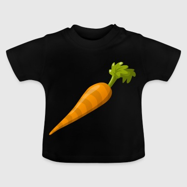 Carrot motif perfect as a gift - Baby T-Shirt