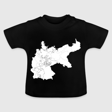 Germany map - Baby T-Shirt