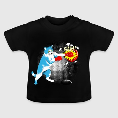Hard, but with velvet paw - Baby T-Shirt