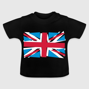 Crazy Union Jack - T-shirt Bébé