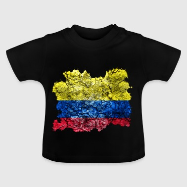 Colombia vintage flag - Baby T-Shirt