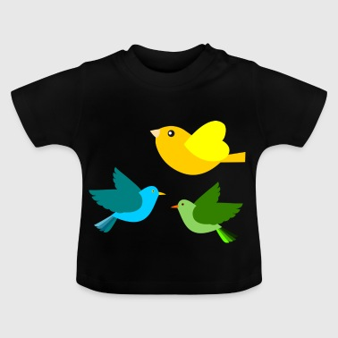 Vögel - Baby T-Shirt