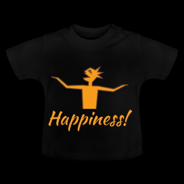 Happiness (orange) - Baby T-Shirt