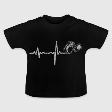 Shirt Gift Heartbeat smoker - Baby T-Shirt