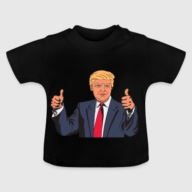 Donald Trump Fake news - Baby T-Shirt