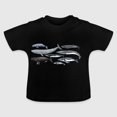Wale - Wale - Baleines - Mysticeti - Baby T-Shirt