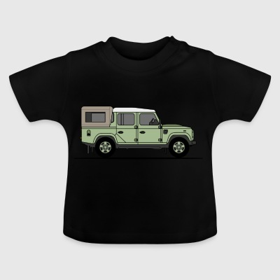 Defender 110 Pick Up - Baby T-Shirt