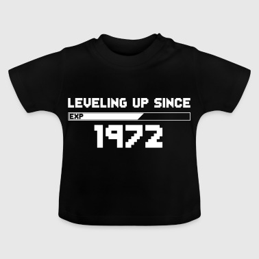 Gamer Jahrgang leveling up since 1972 - Baby T-Shirt