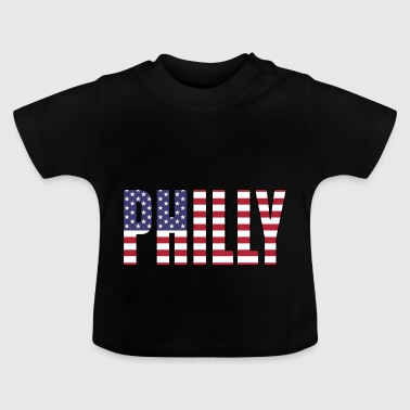 Philladelphia USA Flag - Baby T-Shirt
