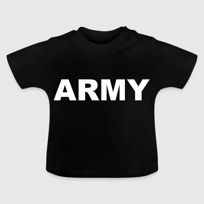 Army lettering - Baby T-Shirt