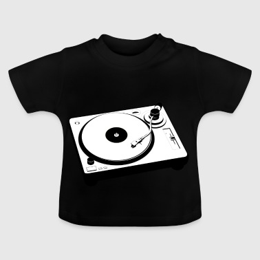 Turntable Mischpult - Baby T-Shirt