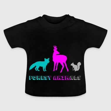 Forest animals - Baby T-Shirt