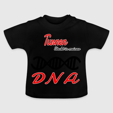 Is in my DNA hobby gymnastics - Baby T-Shirt