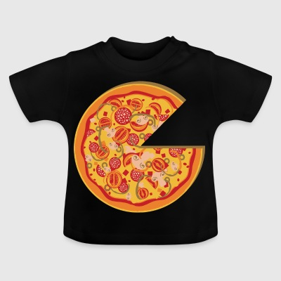 Partnerlook Pizza Partners BFF vän Kärlek Part 1 - Baby-T-shirt