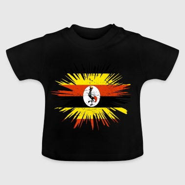 Gave Splatter Country Roots Uganda - Baby T-shirt
