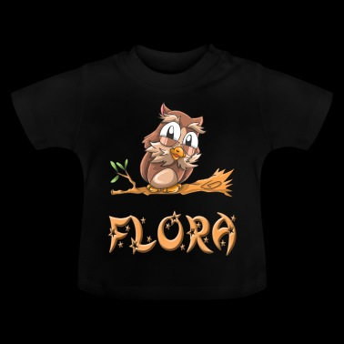Eule Flora - Baby T-Shirt